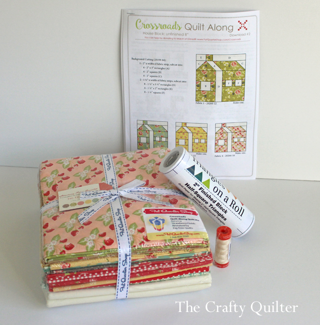 New BOM's, Crossroads Quilt Along Kit