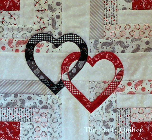 Hearts Bloom Applique by Julie Cefalu