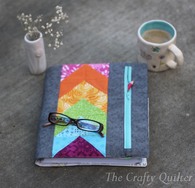 Zippy Quilter's Planner Cover made by Julie Cefalu