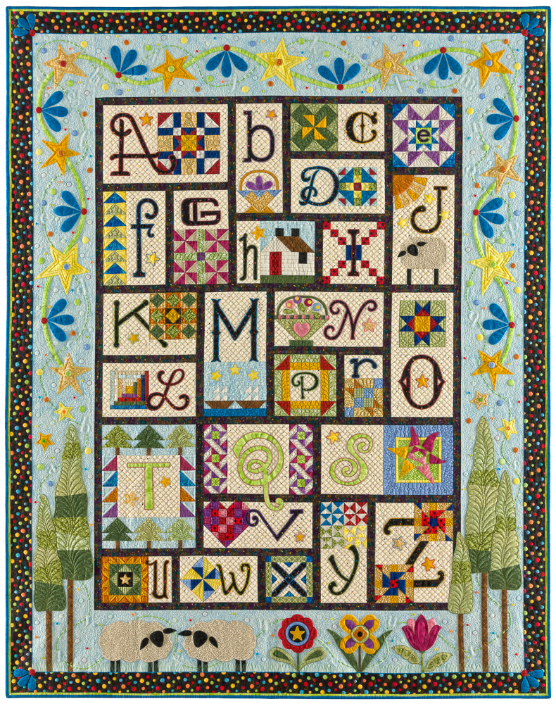 A to Z for Ewe And Me, Designed and made by Janet Stone
