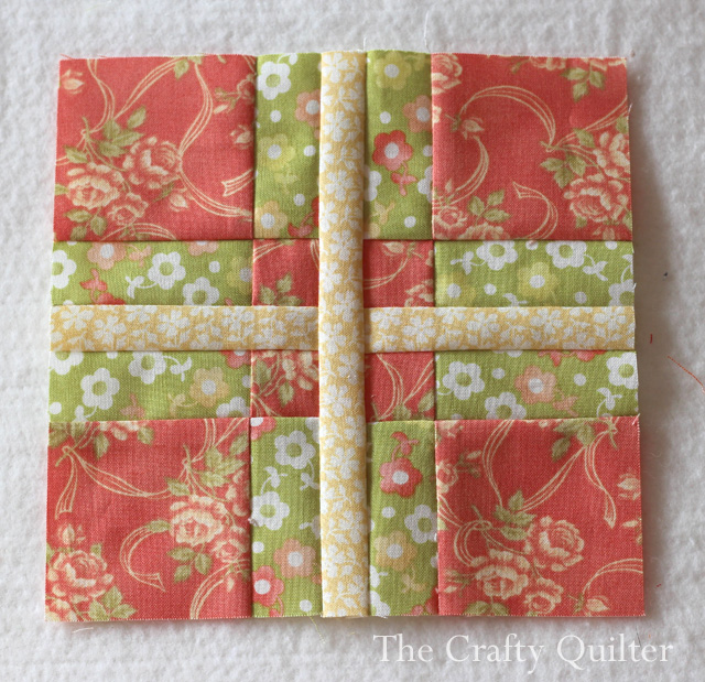 Splendid Sampler Block 5 by Julie Cefalu