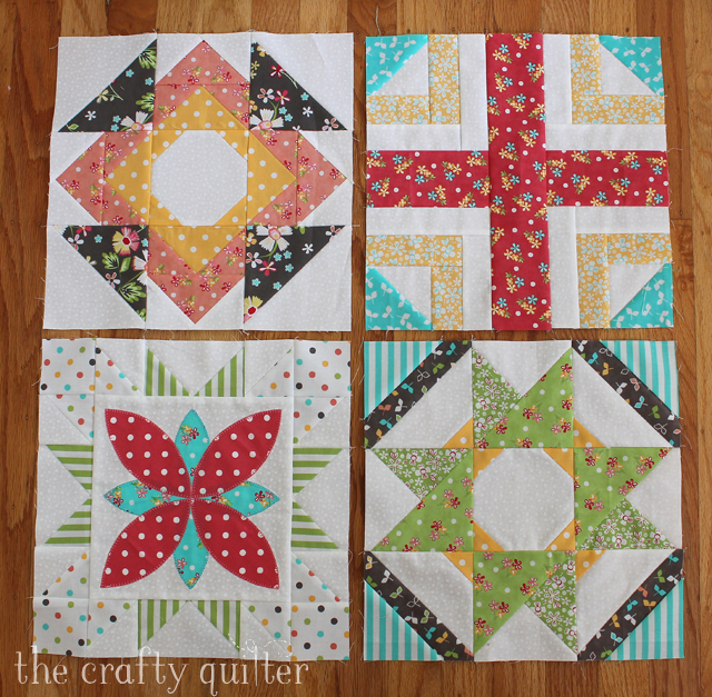 Sugar Block Club blocks made by Julie Cefalu