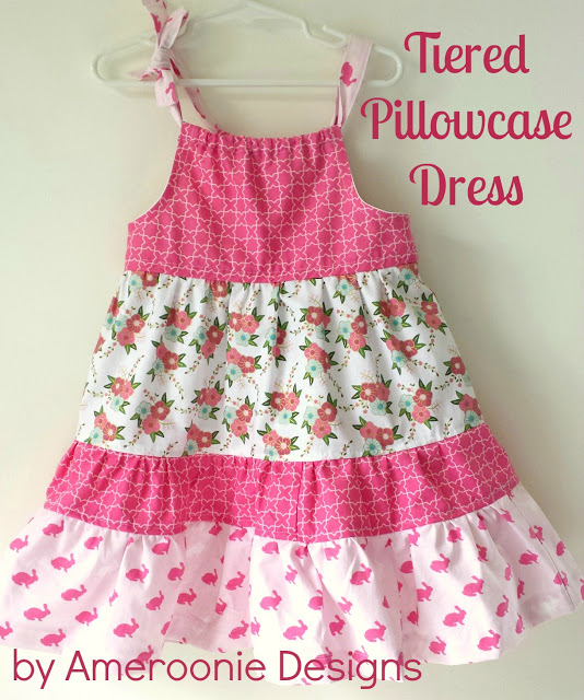 Tiered+Pillowcase+Dress