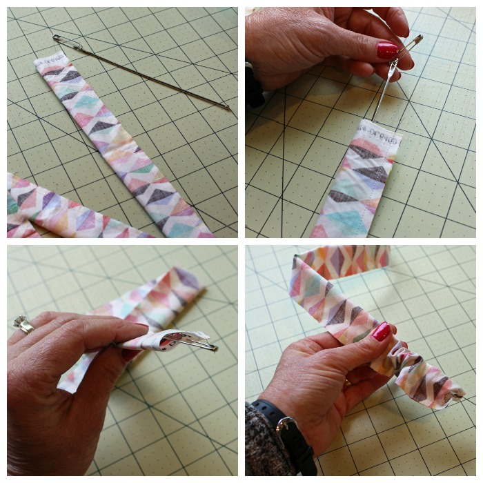 Fabric Covered Bead Necklace Tutorial @ The Crafty Quilter