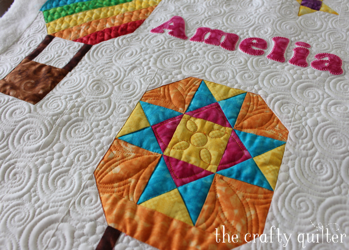 amelias wall hanging quilting copy