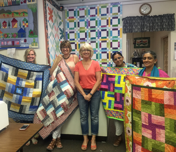 Beg Quilt students 7-2016
