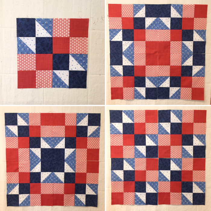 Setting options for Arkanasas Crossroads block at The Crafty Quilter