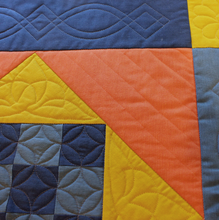 How to use stencils for quilting - The Crafty Quilter