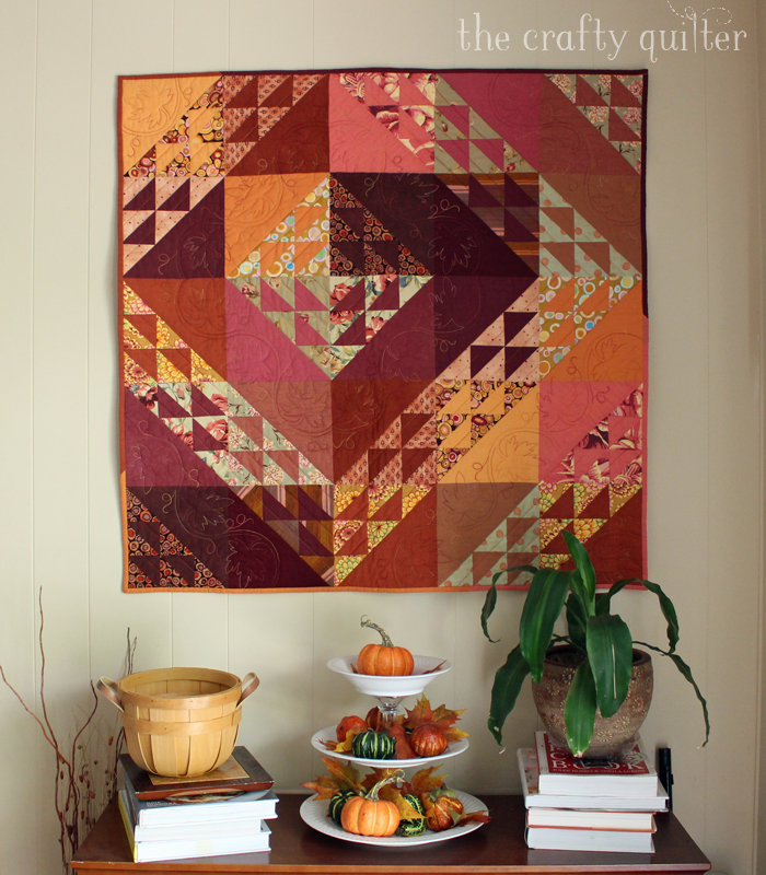 Fall Inspiration at The Crafty Quilter