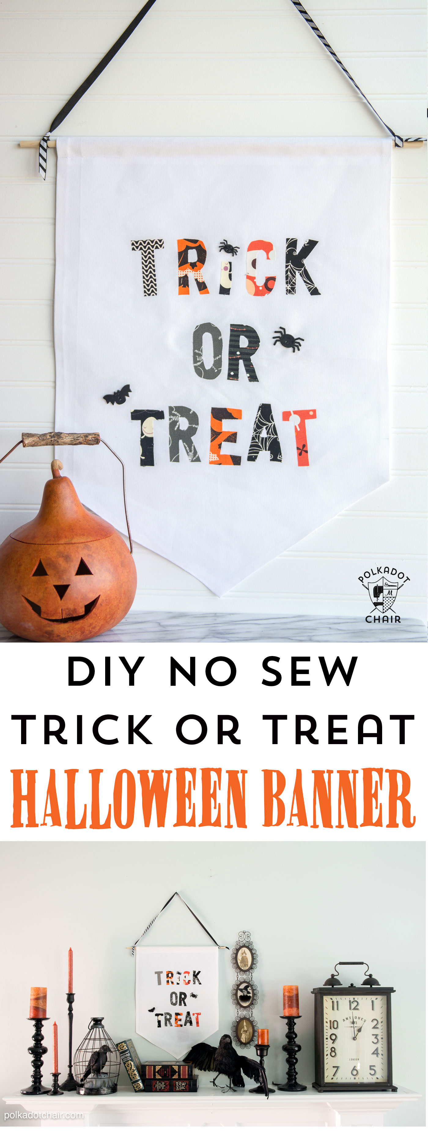 no-sew-trick-or-treat-halloween-banner