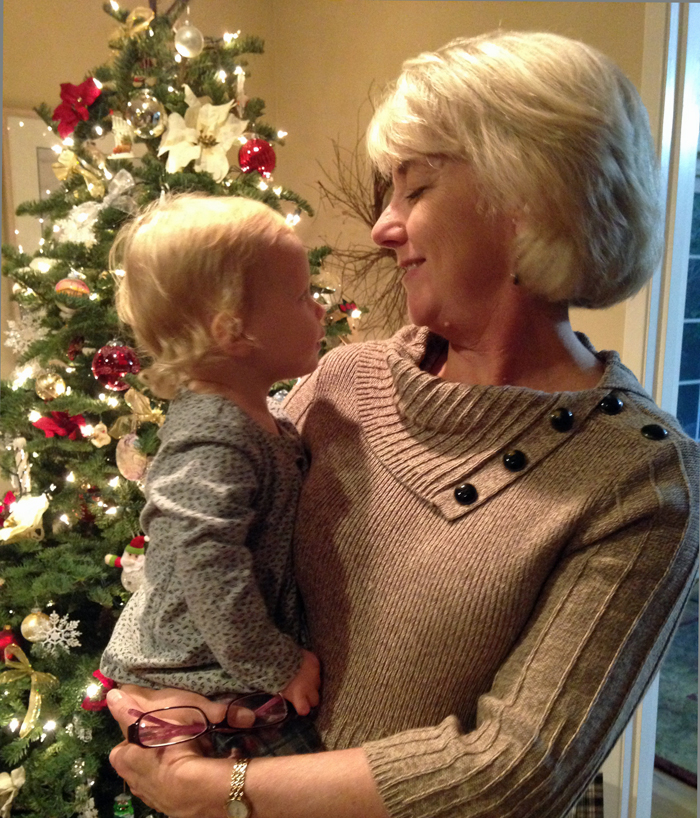 Merry Christmas from Julie and Amelia