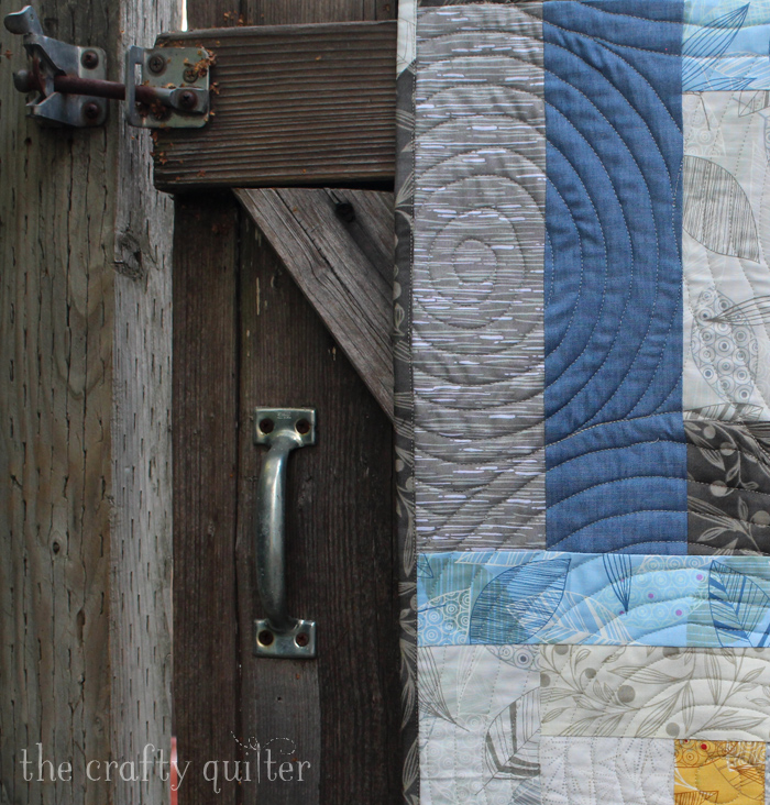 City Houses Table Runner made by Julie Cefalu for I Love Precut Quilts! Blog Hop