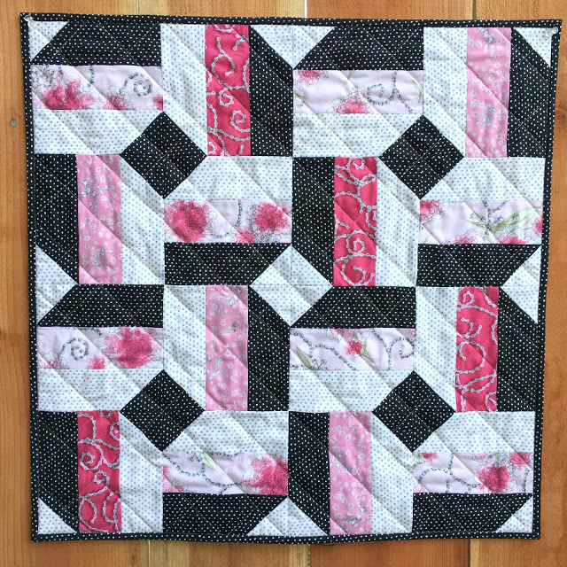 Sweet Rebellion Mini Quilt by Cindy at Live a Colorful Life