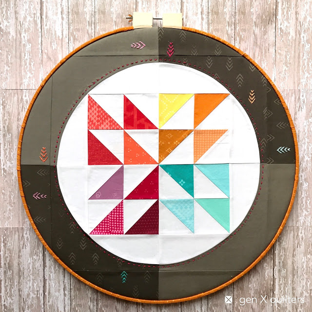 March favorite: Hoop Quilts Pattern at Gen X Quilters