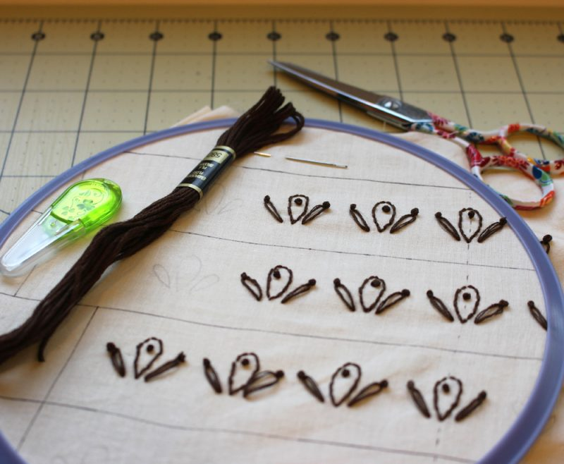 March favorite: Clover needle threader for embroider at The Crafty Quilter