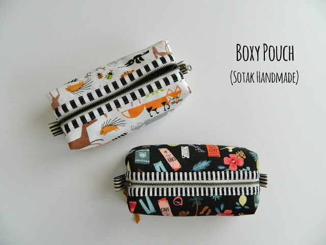 Boxy Pouch Tutorial by Svetlana at SOTAK Handmade