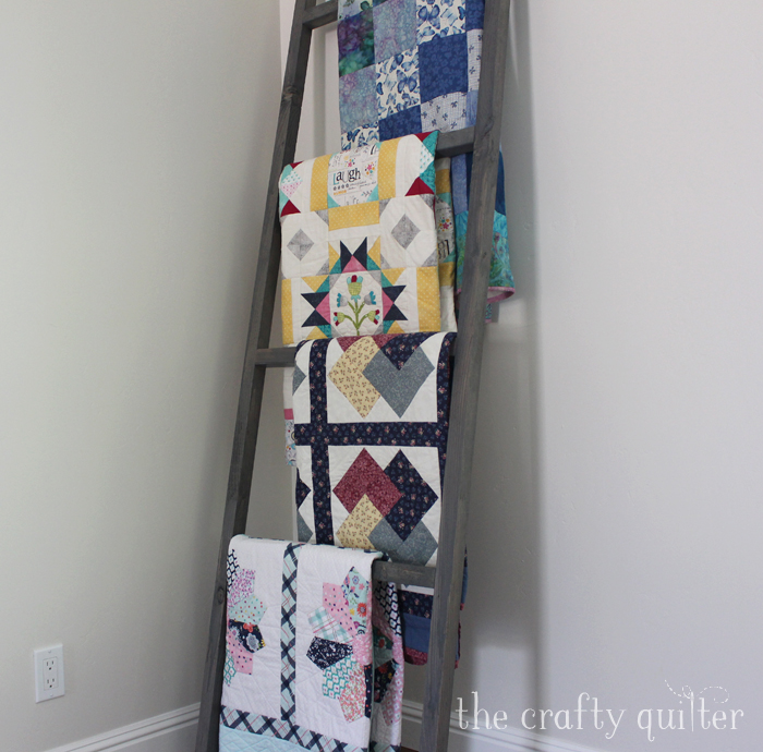 Quilt ladder @ TheCrafty Quilter