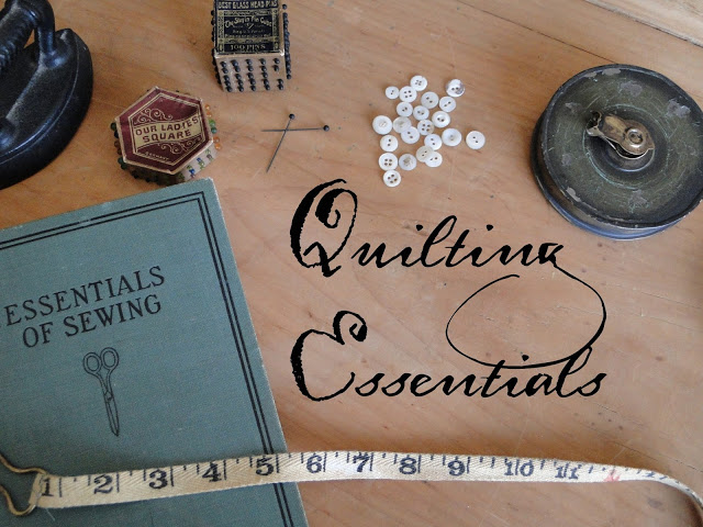 Quilting Essentials at Heartspun Quilts