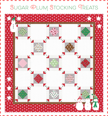 Sugar Plum Stocking Treats at Bunny Hill Designs