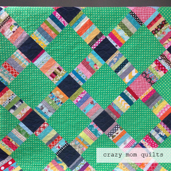 June Quilt Quilt Along at Crazy Mom Quilts
