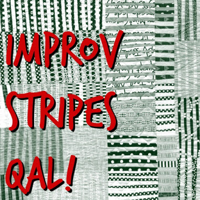 Improv Stripes QAL @ A Quilter's Table