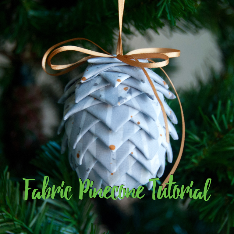 Fabric Pinecone Tutorial @ Mister Domestic