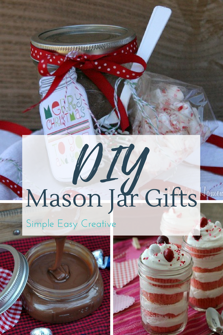 Mason Jar Gift Ideas @ Hoosier Homemade