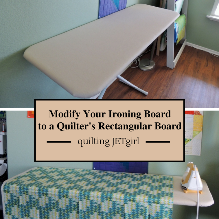 Modifying Your ironing Board @ Quilting Jetgirl