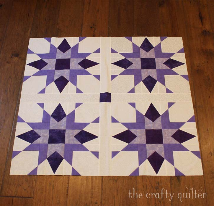Franklin Star Quilt made by Cindy Finn