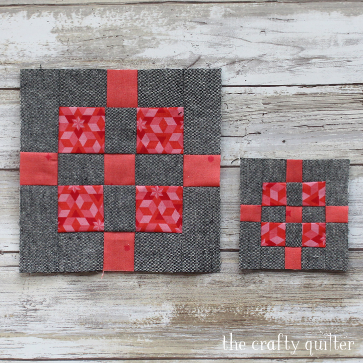 2018 QP Sampler Quilt Block 3 made by Julie Cefalu