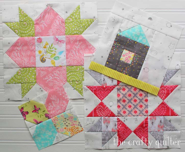Heartland Heritage quilt blocks. Made by Julie Cefalu, designed by Inspiring Stitches