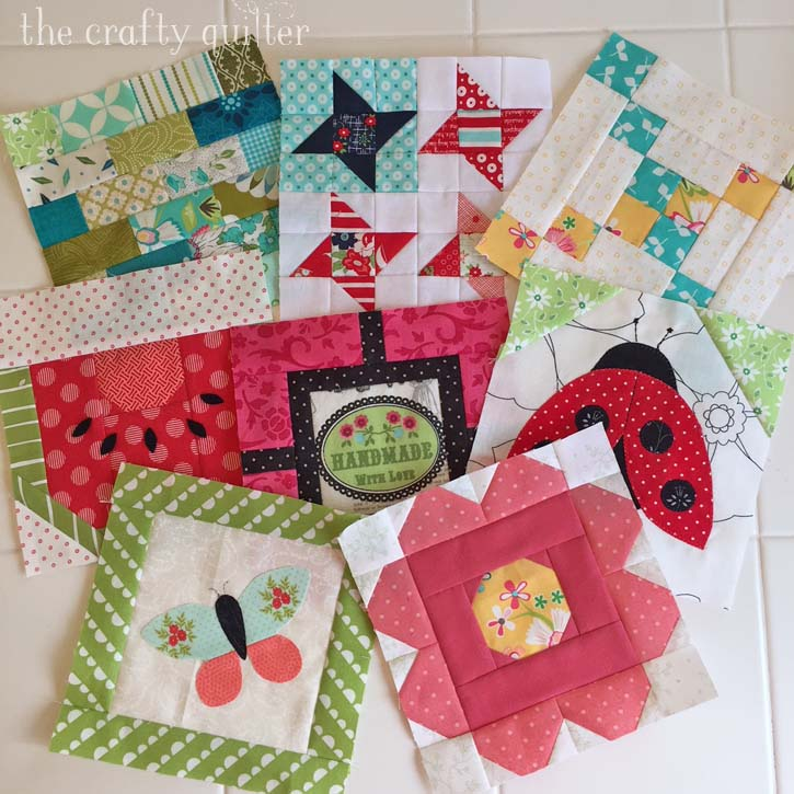 Quilt blocks made by Julie Cefalu. Part of my Best of 2018 blog posts @ The Crafty Quilter