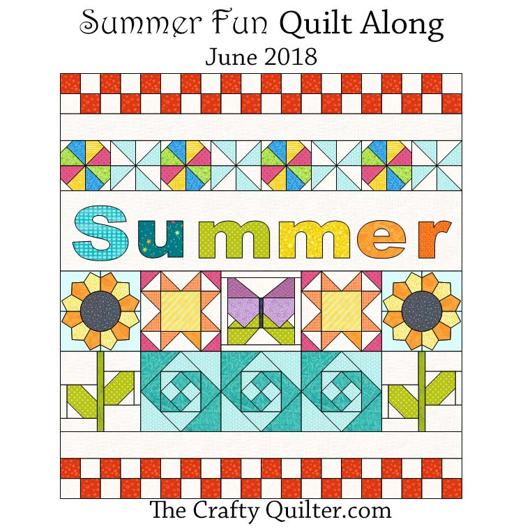 Summer Fun Quilt Along Link Up and tutorials