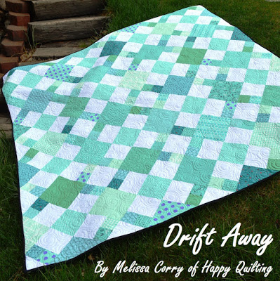 Drift Away Quilt Tutorial @ Happy Quilting
