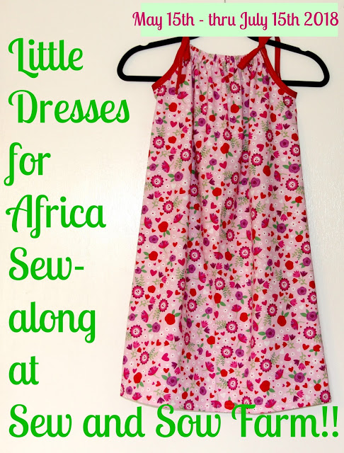 Little Dresses for Africa Sew Along @ Sew And Sow Farm