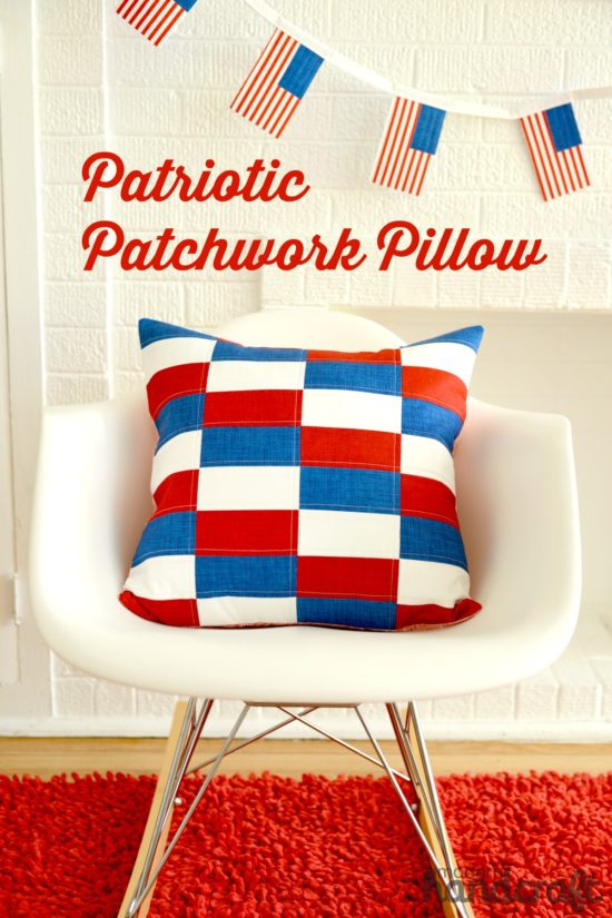 Patriotic Pillow Tutorial @ Modern Handcraft
