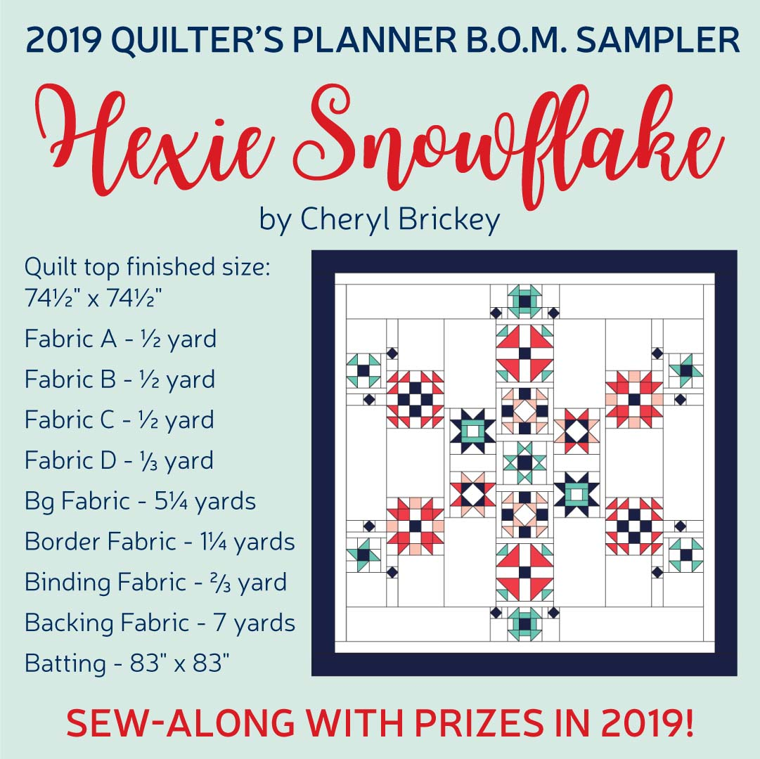 The Crafty Quilter shares tips for making your planner useful and effective, plus how she uses The Quilter's Planner to stay organized and creative at the same time!