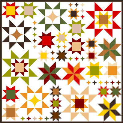 Seeing Stars Quilt Along @ Happy Quilting