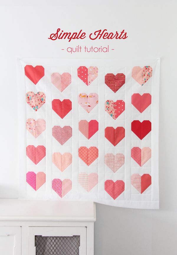 Simple Hearts Tutorial @ Cluck Cluck Sew