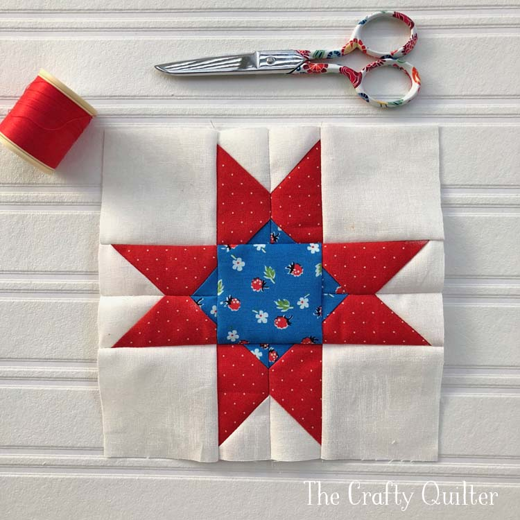 Piecing Project: St. Louis Star made by Julie Cefalu. Designed by The Patchsmith