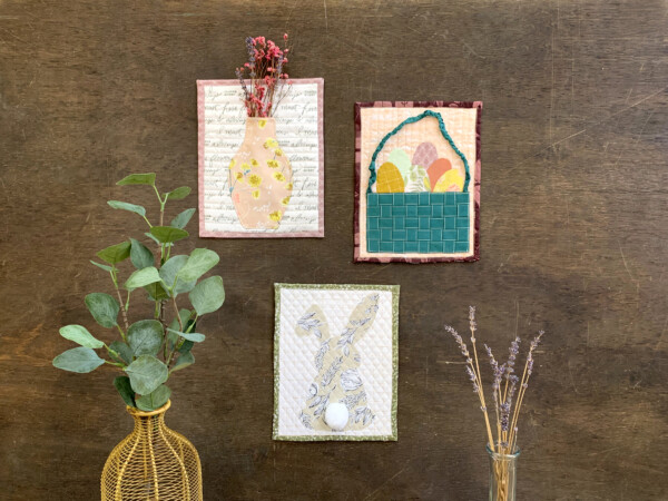 Easter Mini Quilts @ We All Sew